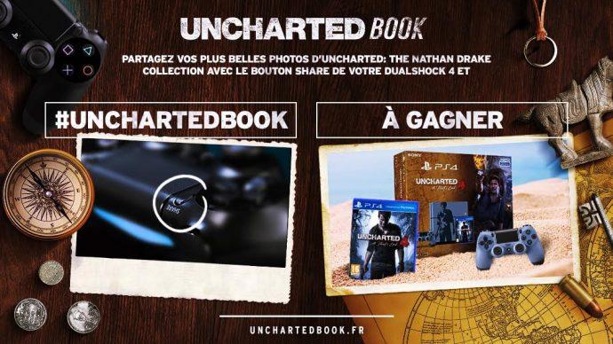 Concours Uncharted - de beaux lots à gagner