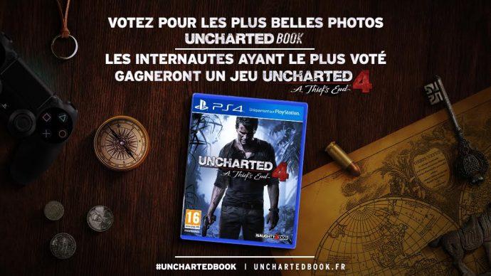 Concours Uncharted - même les votants peuvent gagner