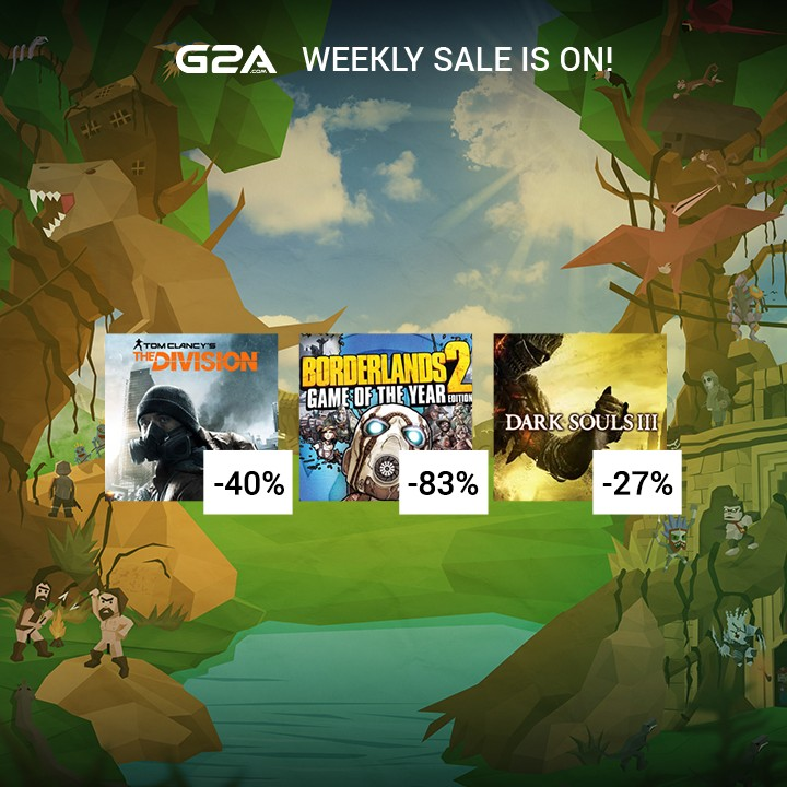Les promos G2A du week end