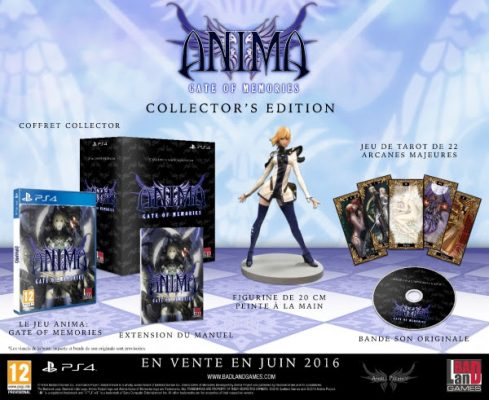 Anima : Gate of Memories édition collector