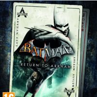 Batman Return to Arkham jaquette PS4