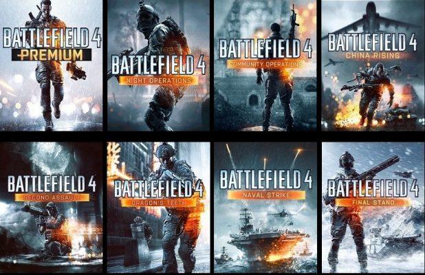 Toutes les extensions de Battlefield 4
