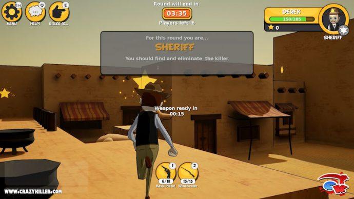 Crazy Killer Sheriff
