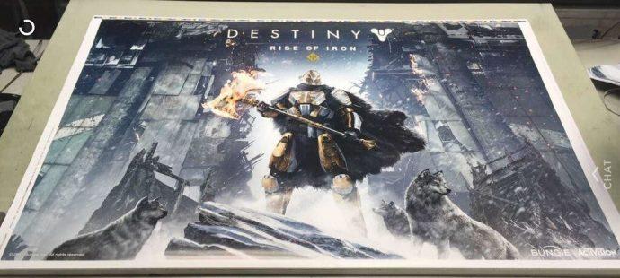 Poster Destiny Rise of Iron
