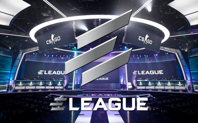 Turner ELEAGUE arena and logo for Csgo