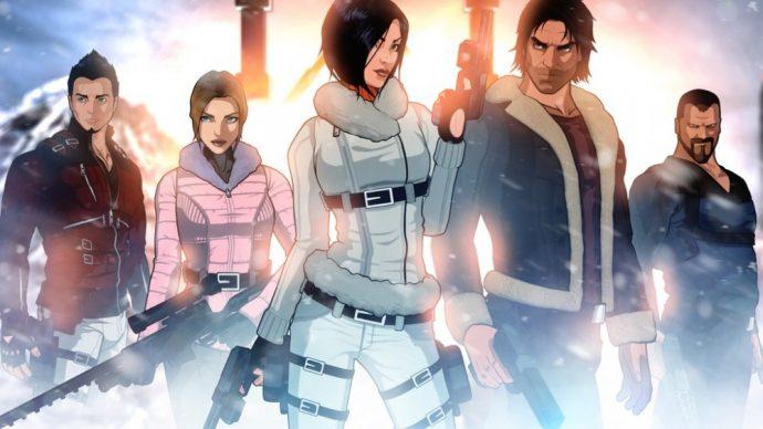 Fear Effect Sedna : Les personnages principaux