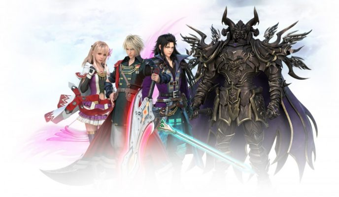 Les personnages principaux de Final Fantasy Brave Exvius