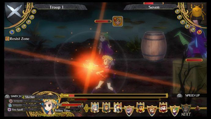 Grand Kingdom - attaque sorcière