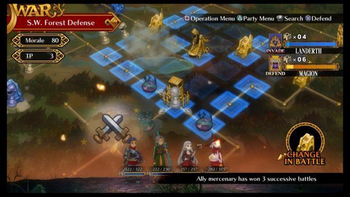 Grand Kingdom - mode online