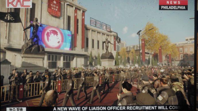 Les soldats APEX envahissent le monde dans Homefront The revolution