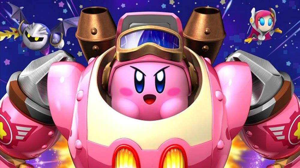 Kirby dans son Robot