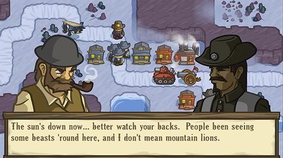 Lost Frontier dialogue entre personnages