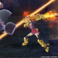 MegaTagmension Blanc Neptune vs Zombies en plein combat