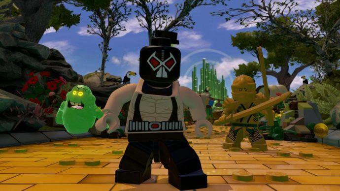 LEGO Dimensions Bane Lloyd et bouffe tout