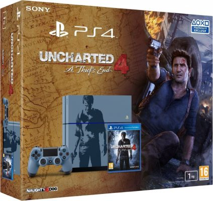 pack ps4 uncharted exclusivité