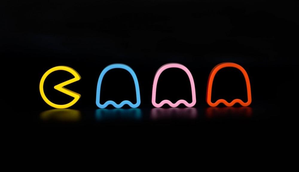Pac Man et les fantômes
