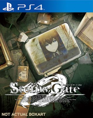 Steins;Gate 0 jaquette PS4