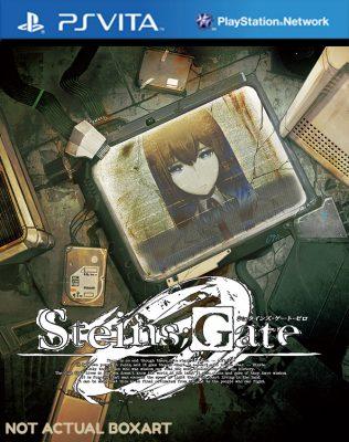 Steins;Gate 0 jaquette Vita
