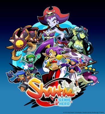 La pochette de Shantae Half-Genie Hero