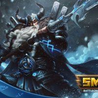 Le dieu Odin dans SMITE