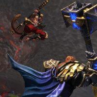Le duel entre Sun Wukong et Thor dans SMITE