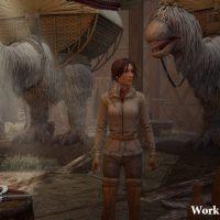 Kate découvre un camp dans Syberia 3