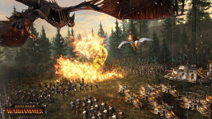 "Total War: WARHAMMER le sort ""Fireskull"""