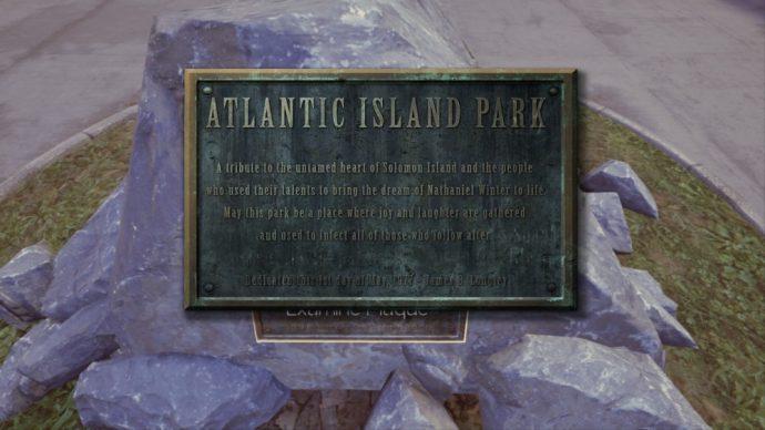 The Park plaque