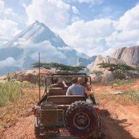 Uncharted 4 - Nathan Drake en Jeep