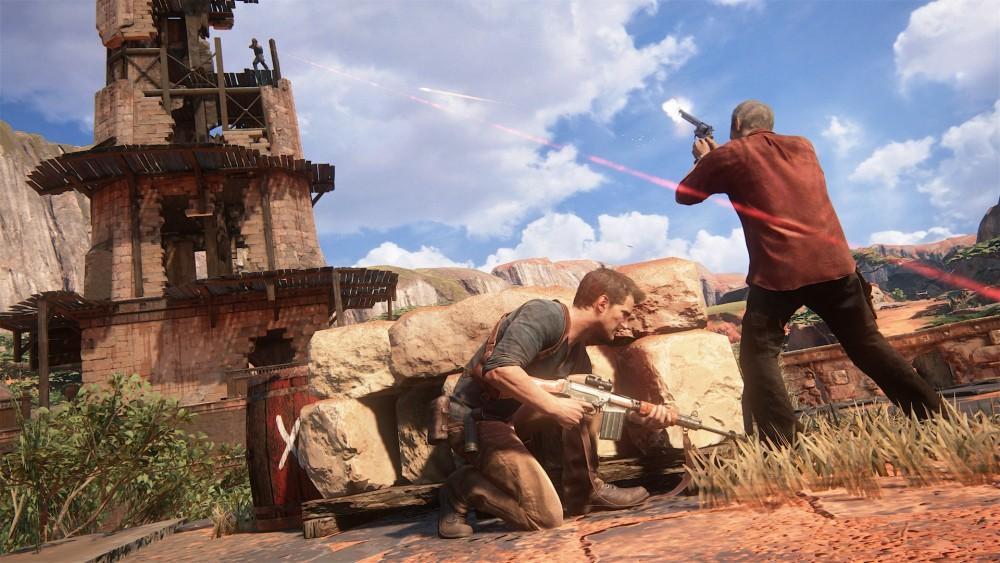 Screenshot du jeu Uncharte 4