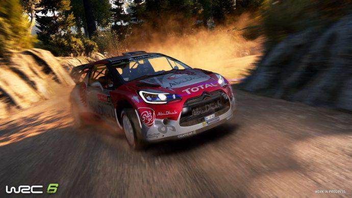 Voiture de WRC 6