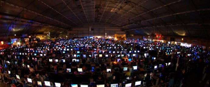 La dreamhack tours fait sortir les gamers