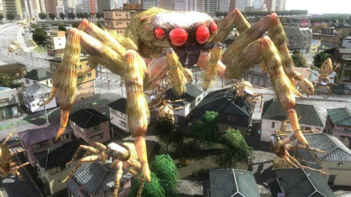 Earth Defense Force 4.1 araignée géante
