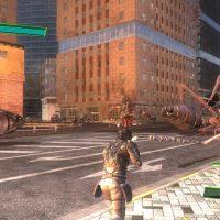 Earth Defense force 4.1 combat urbain