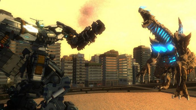 Earth Defense Force 4.1 combat robot dragon