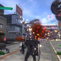Un robot dans la ville dans Earth Defense Force 4.1: The Shadow of New Despair