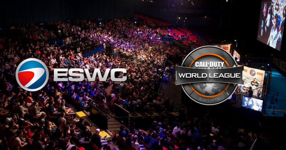 Le zenith ouvre ses portes à l'eswc call of duty world league
