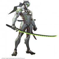 Concept art Genji Overwatch