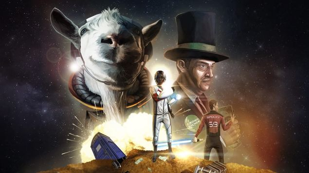 Goat Simulator: Waste of Space image titre