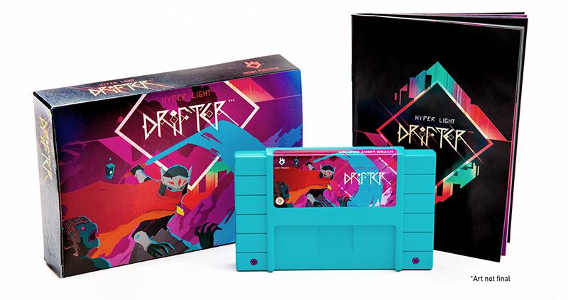 Hyper Light Drifter édition collector rétro