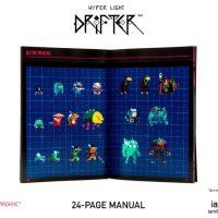 Hyper Light Drifter manuel du collector