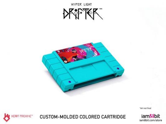 Hyper Light Drifter cartouche du collector