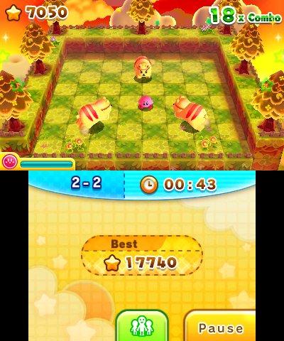 Les Dfis 3D de Kirby