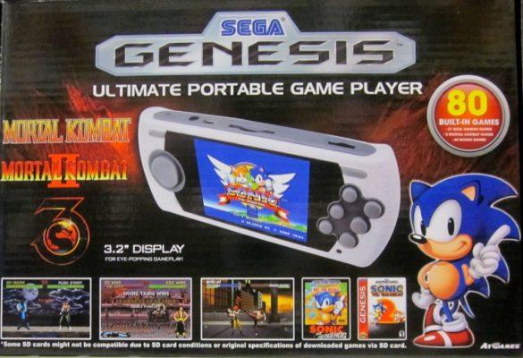 Mega Drive boitier édition Mortal Kombat