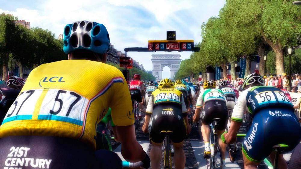 Au départ de Le Tour de France 2016