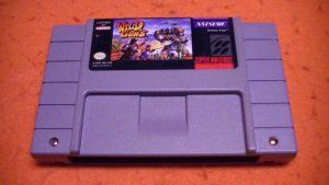 Wild Guns cartouche Super NES