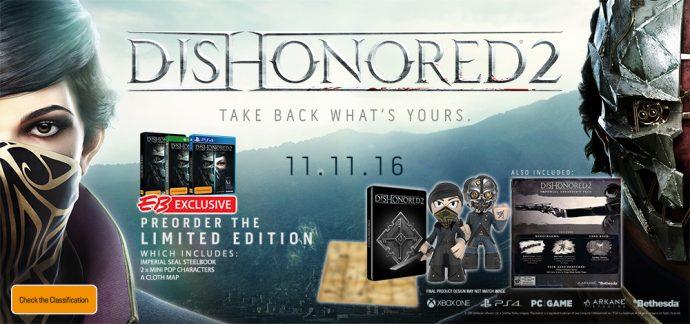 Dishonored 2 édition limitée