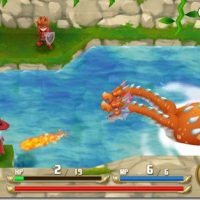 Adventures of Mana combat