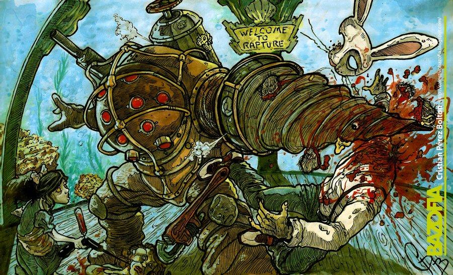 Fan Art de BioShock de crispawn sur DeviantArt
