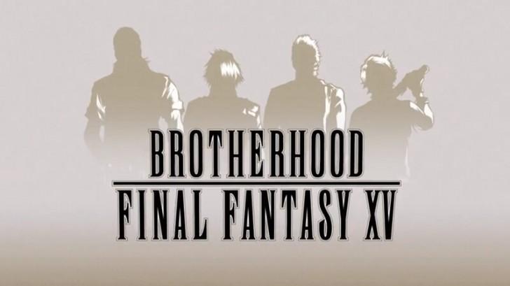 Brotherhood Final Fantasy XV logo